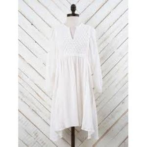 Altar'd State Breezy Beauty Dress in White